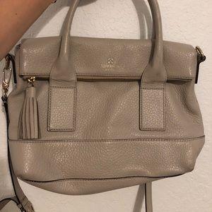 Grey Kate Spade Bag - good condition